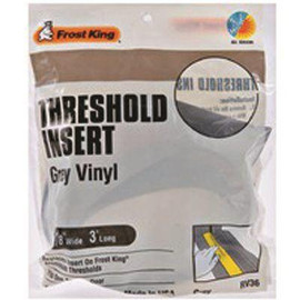 Frost King 1-7/8-inx36-in Grey Replacement Vinyl Insert For Aluminum Threshold