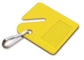 Lucky Line Products Key Cabinet Tag Yellow (20 Per Pack)