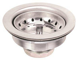 Ss Sink Strainer Fits Sinks 3-1/2' To 4' Openings
