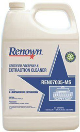 Renown 128 Oz. Certified Prespray And Extraction Cleaner (4 Per Case)