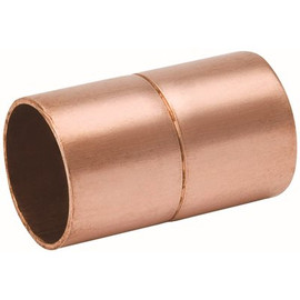 Copper Coupling W/ Stop 1/2' X 5/8' - Must Purchase In Mult Of 10