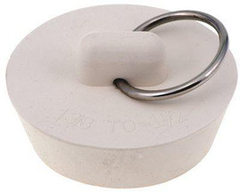 Solid Rubber Stopper 1-1/4 In