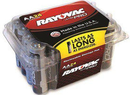 Rayovac Ultra Pro Aa Alkaline Batteries, Contractor Pack, 24-pack