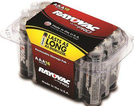 Rayovac Ultra Pro Aaa Alkaline Batteries Contractor Pack (18-pack)