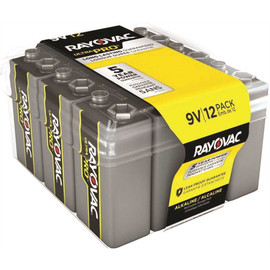 Rayovac Ultra Pro 9-volt Alkaline Batteries Contractor Pack (12-pack)
