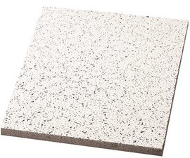 Armstrong Acoustical Ceiling Tile Cortega Square Lay In, 24' X 48' X 5/8', 12 Per Case