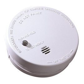 Kidde Battery Operated Ionization Smoke Alarm- Includes A 9-volt Battery