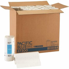 Pacific Blue Select 2-ply Perforated Roll Towel, White (30-rolls Per Case)