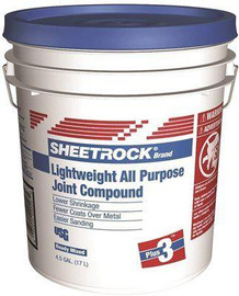 Usg Sheetrock Brand 4.5 Gal. Plus 3 Lightweight All-purpose Pre-mixed Joint Compound