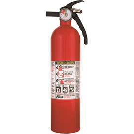 Kidde All Purpose Home Fire Extinguisher, Disposable, 1-a:10-b:c Rating, 2.5 Lbs.