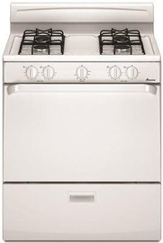 Amana 30-inch 5.1 Cu. Ft. Single Oven Free-standing Gas Range, White
