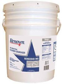 Renown Industrial Cleaner Degreaser Heavy-duty 5 Gallon Pail