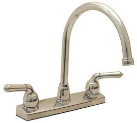Proplus 2-handle Standard Kitchen Faucet In Chrome
