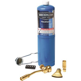 Mag-torch Deluxe 7 Piece Propane Torch Kit, Box Of 3