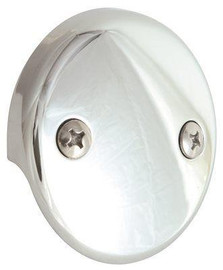 Proplus Bath Drain Face Plate, Two Hole, Box Of 10
