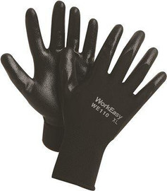 Workeasy Polyester Gloves, Size L