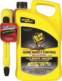 Black Flag Extreme Home Insect Control, Accushot Sprayer, 1.33 Gal.