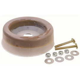 Premier Wax Ring Double Bolt Kit, With Polyethylene Flange