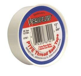 Teflon Tape 3/4' X 520' - Must Purchase In Mult Of 10