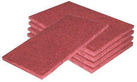 Multi Purpose Abrasive Cleaning Pads 4' X 6' - 5 Pack