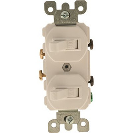 15a Stack Switch White