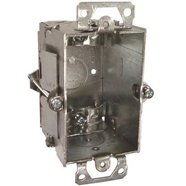 Hubbell Switch Box Single Gang Nmsc Clamps Old Work 2-1/2 In. Deep