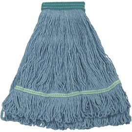 Renown 5 in. Headband Large Blue Blend Looped String Mop (2-Pack)