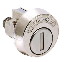 Compx Security COMPX NATIONAL MAILBOX LOCK 4C STYLE CLOCKWISE
