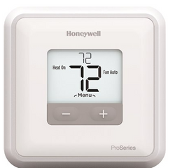 Honeywell Home T1 Pro Non-Programmable Thermostat with 1H/1C Single Stage Heating and Cooling