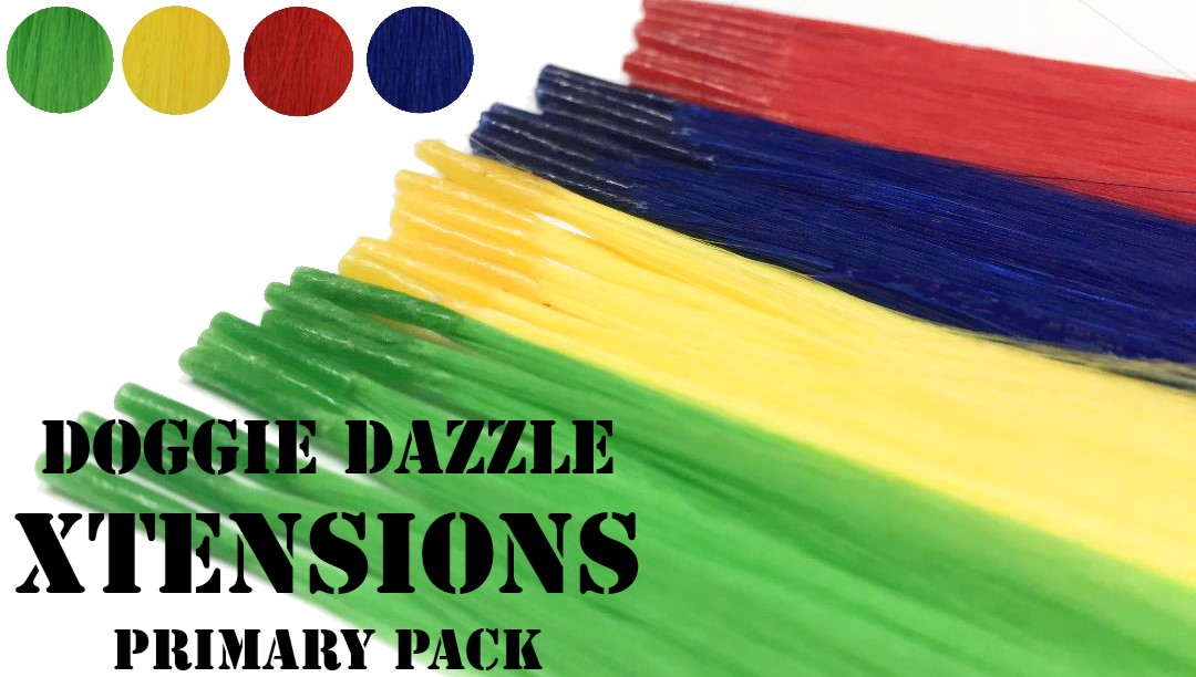 Primary Color Hair Xtension Pack