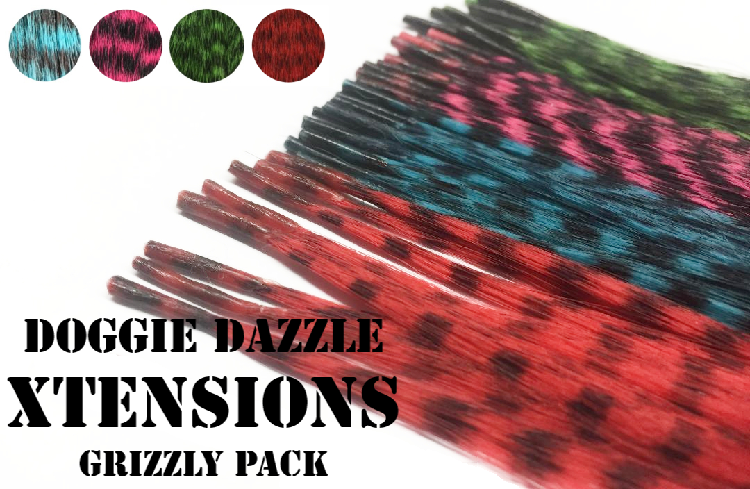 Grizzly Color Hair Xtension Pack