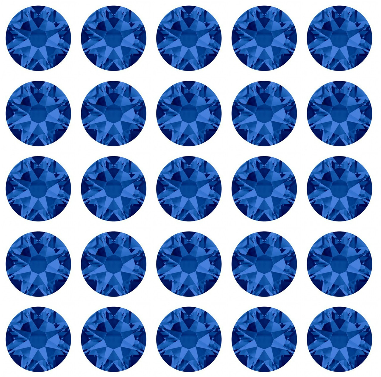 Capri Blue 30ss Swarovski Diamonds