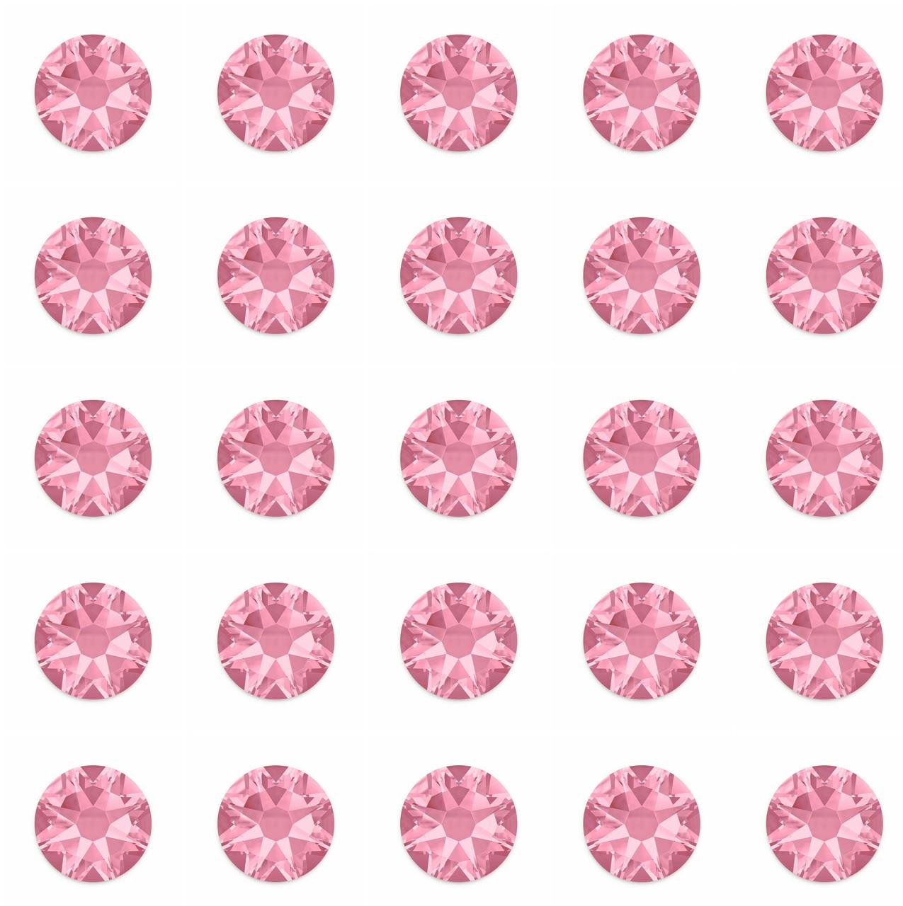 Rose 30ss Swarovski Diamonds
