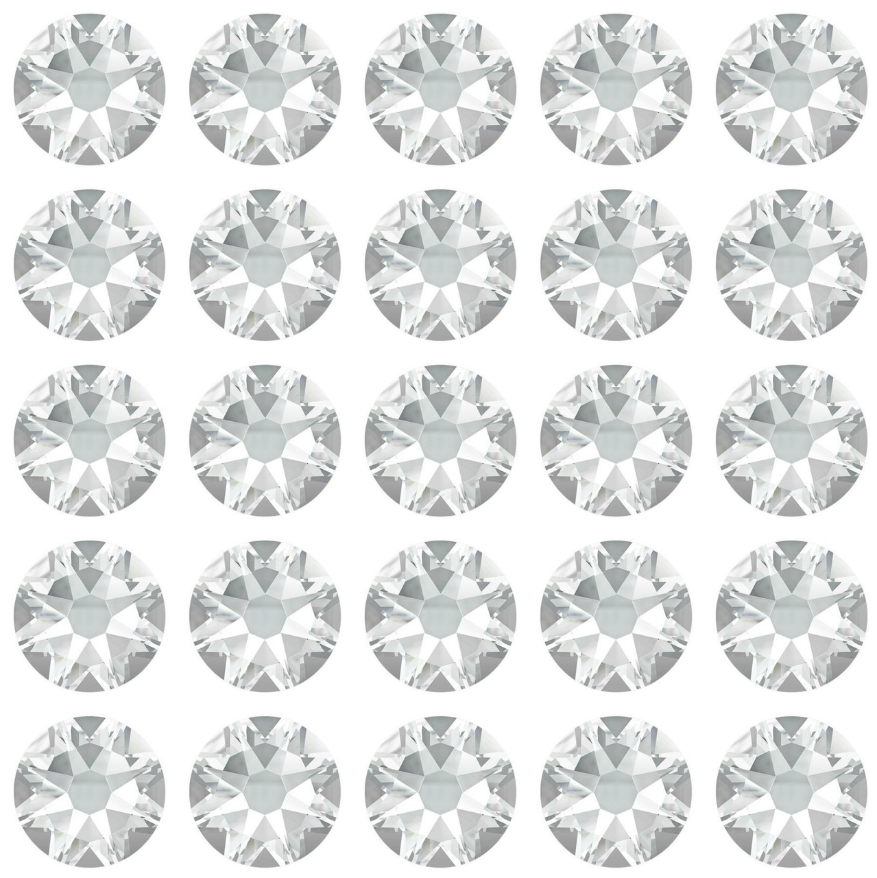 Crystal 30ss Swarovski Diamonds