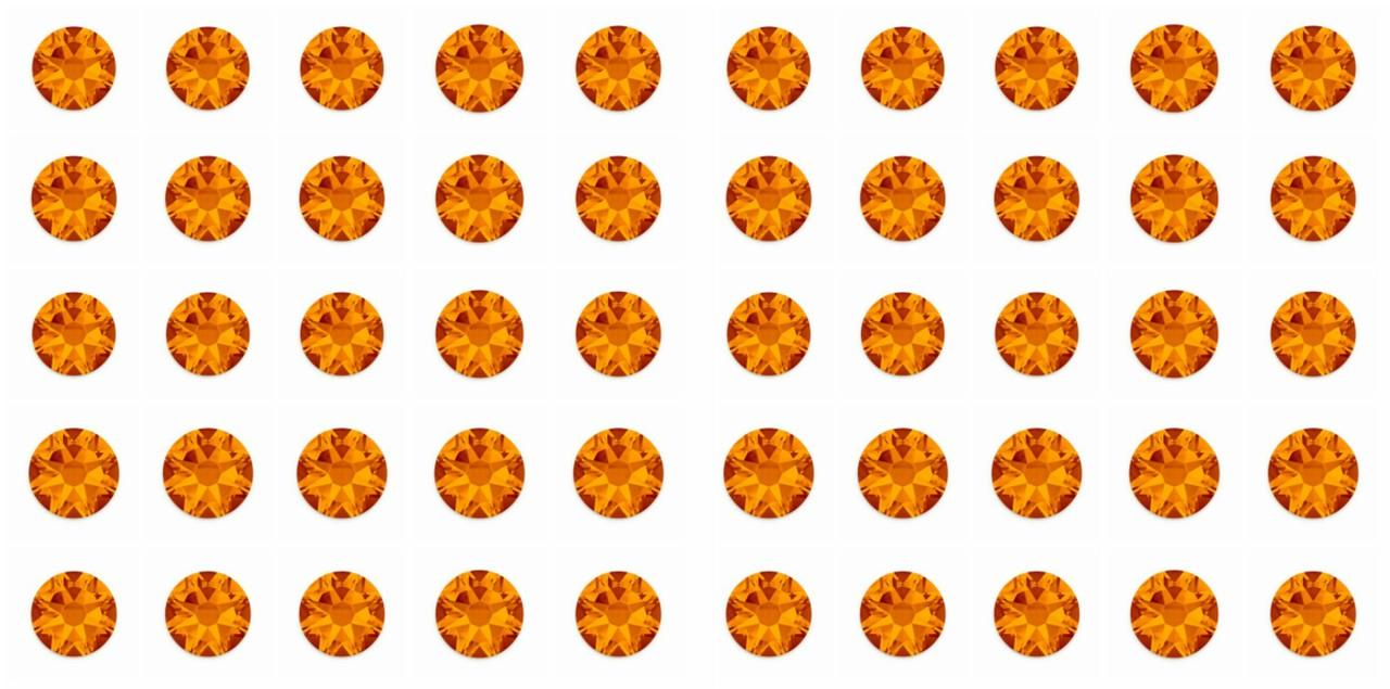 Tangerine 20ss Swarovski Diamonds