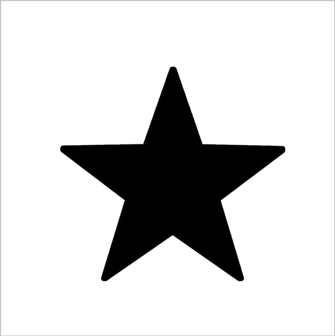 Punk Star Professional Stencil Insert