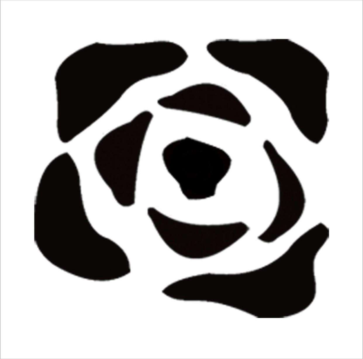 Rose Professional Stencil Insert
