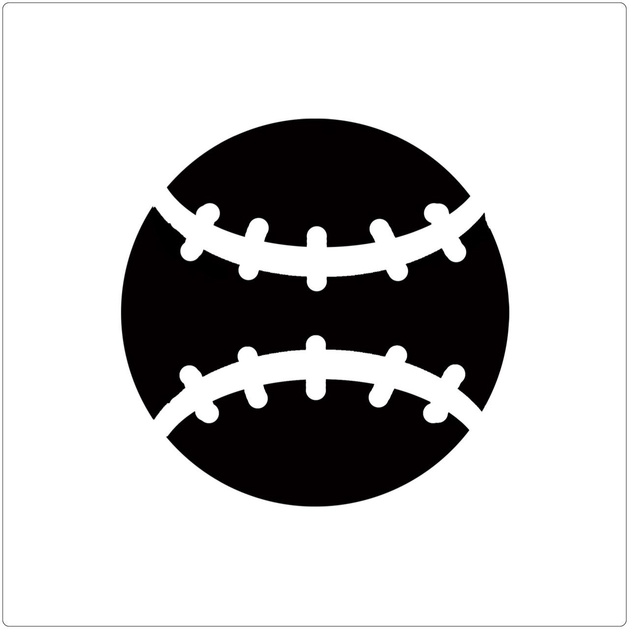 Baseball Professional Stencil Insert