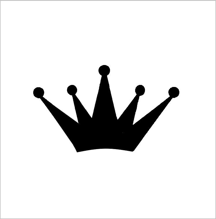 Princess Crown Professional Stencil Insert