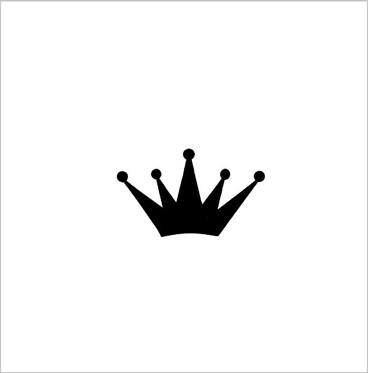 Princess Crown Professional Stencil Insert (small)