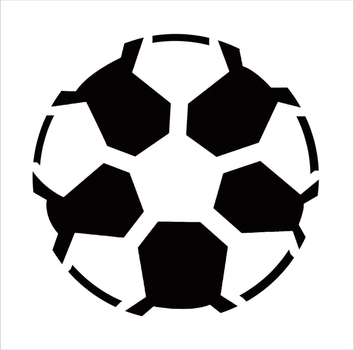 Soccer Ball Professional Stencil Insert