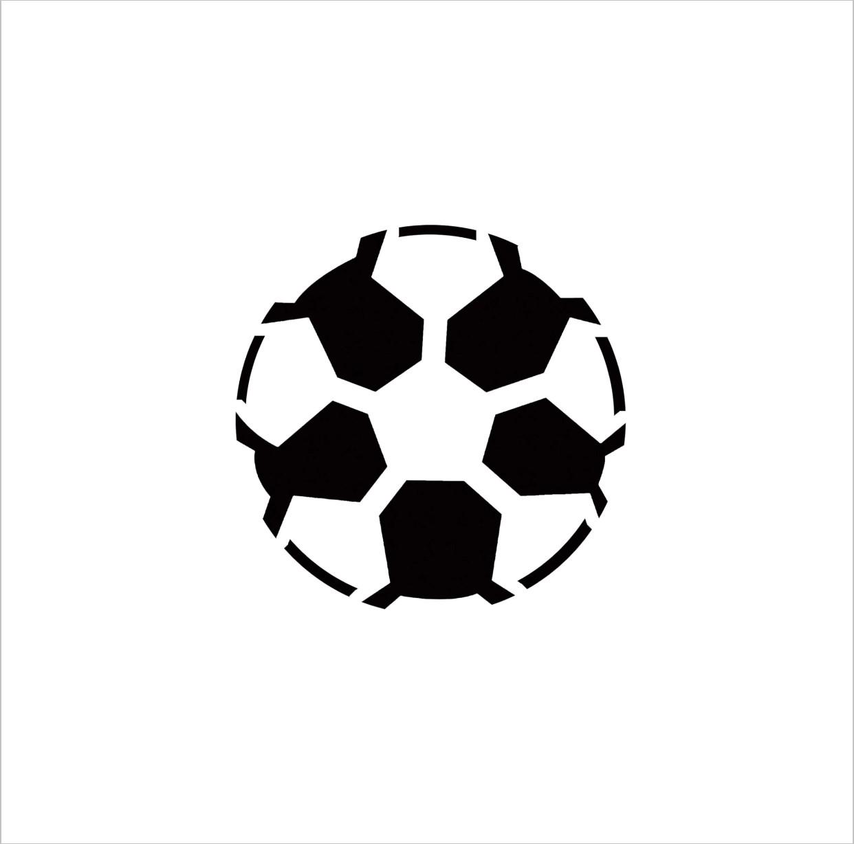 Soccer Ball Professional Stencil Insert (small)