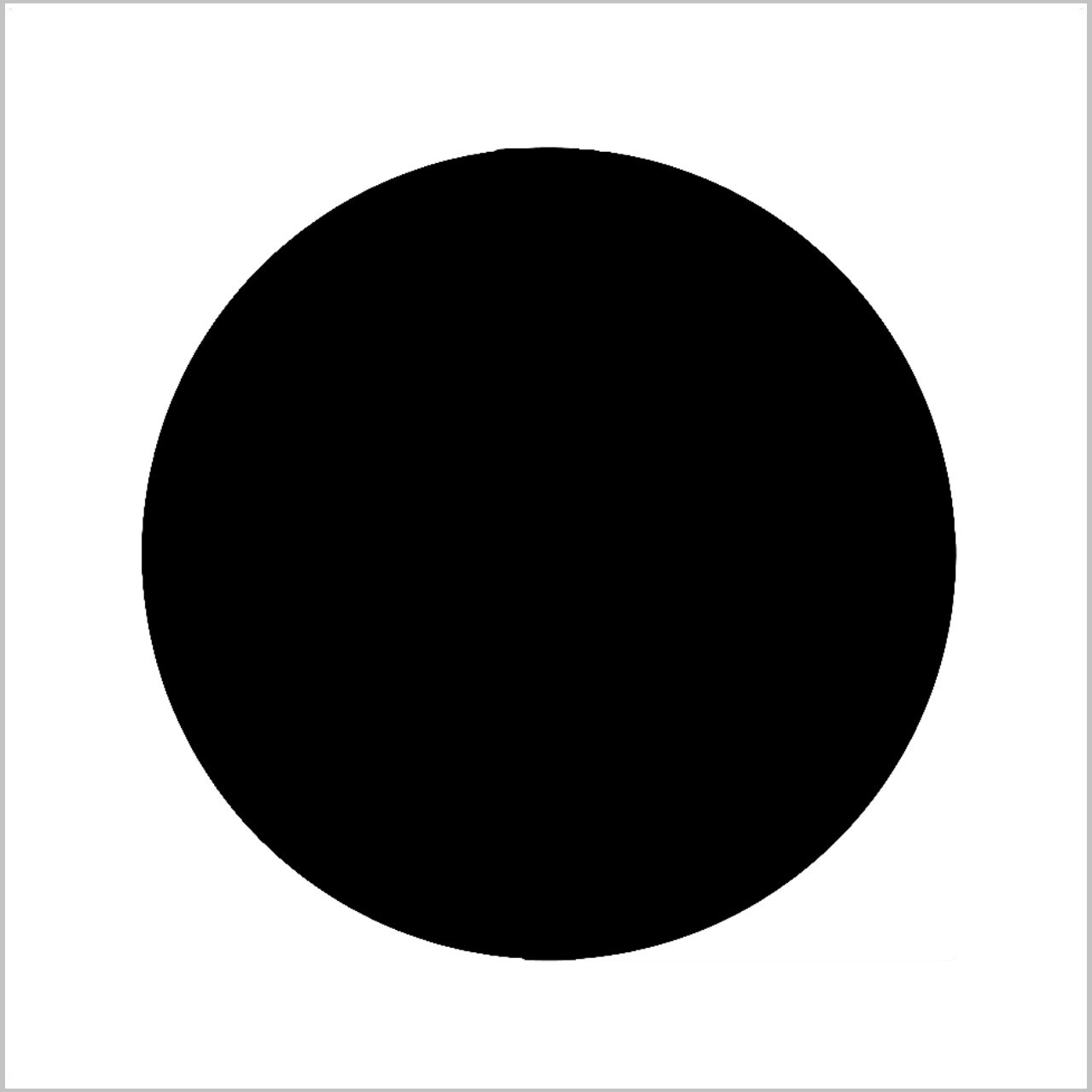 Circle Professional Stencil Insert