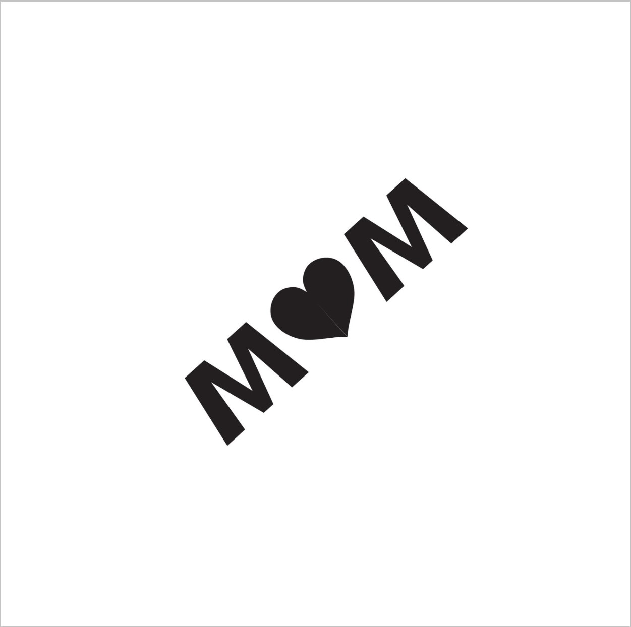 Mom Professional Stencil Insert (small)