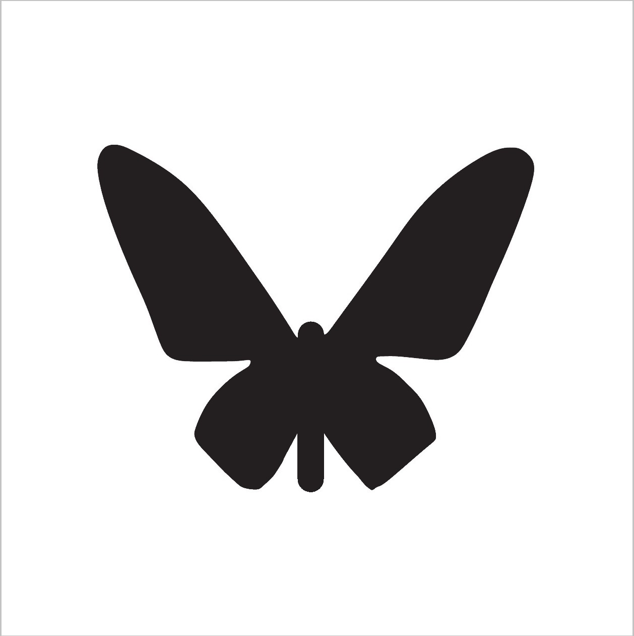 Butterfly Professional Stencil Insert