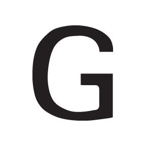 G Block Letter