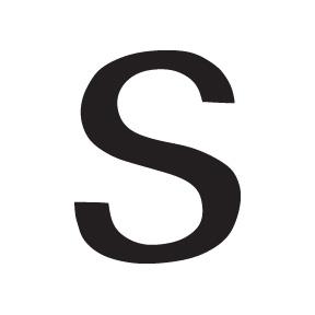 S Block Letter