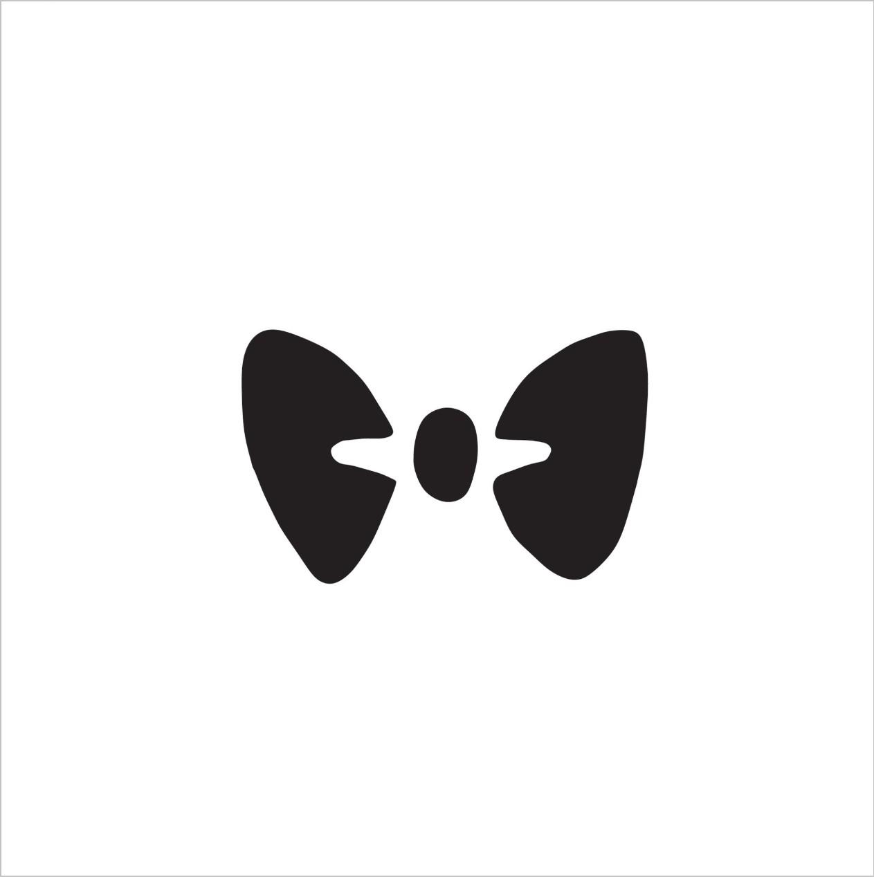 Bow Tie Professional Stencil Insert (small)