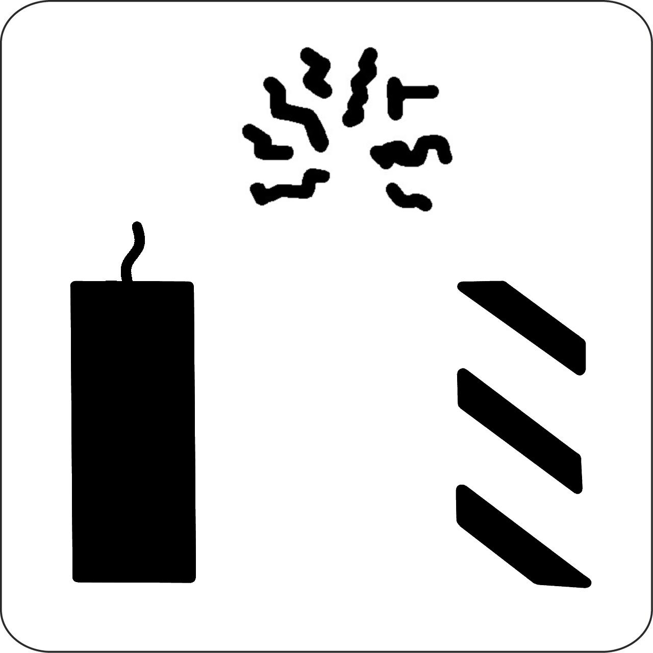 Firecracker Professional Stencil
