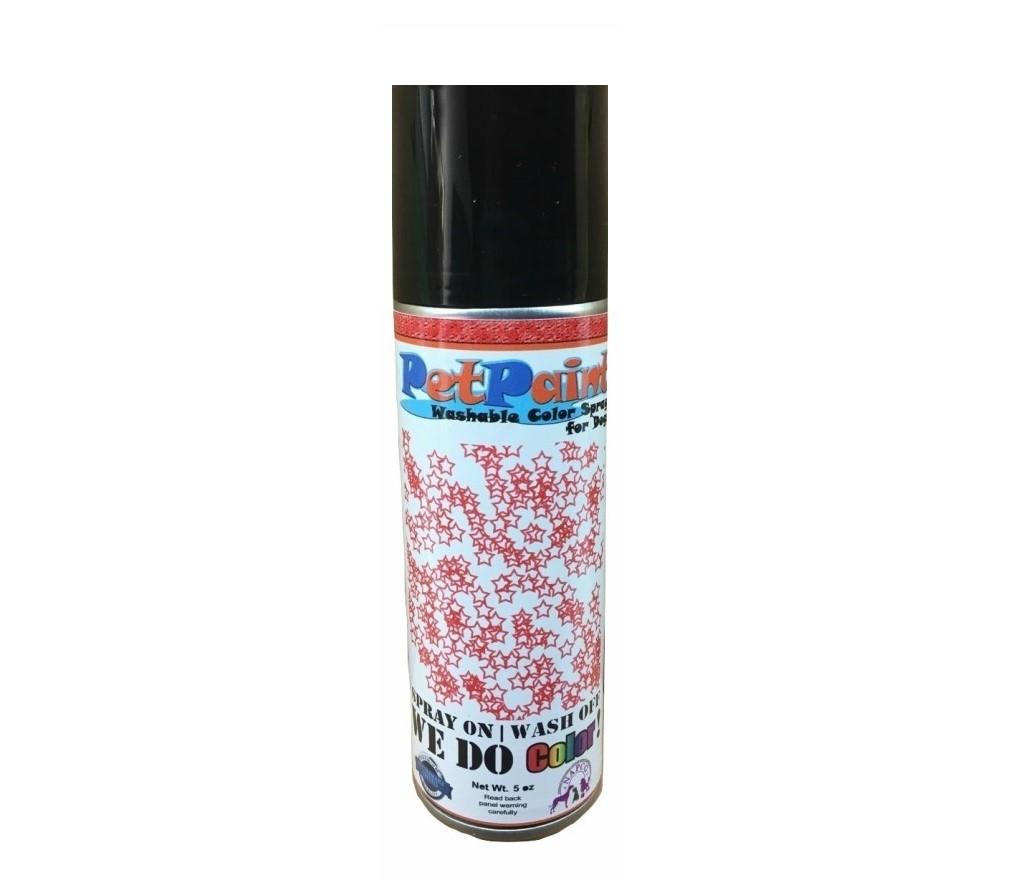 Glitter Pet Hair Spray - Red